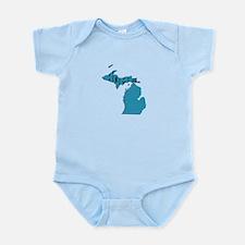 Michigan Home Infant Bodysuit