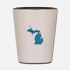 Michigan Home Shot Glass
