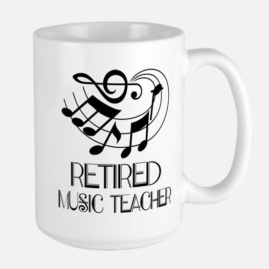 Retired Music Teacher Gift Mugs