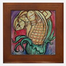 Hopi Corn Maidens Framed Tile