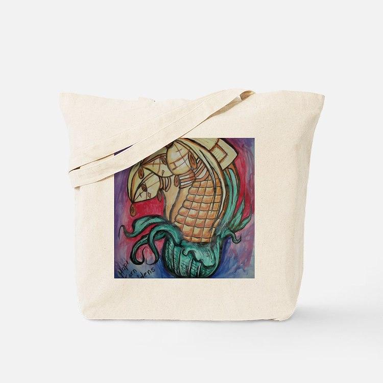Hopi Corn Maidens Tote Bag