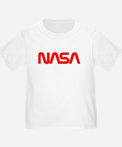 NASA Worm Logo T