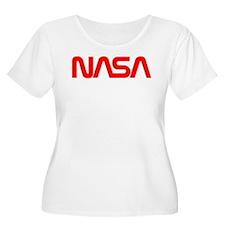 NASA Worm Log T-Shirt