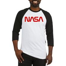 NASA Worm Logo Baseball Jersey