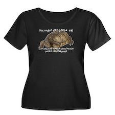 Valuable Pet Lesson #6 Women's Plus Size Scoop T