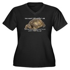 Valuable Pet Lesson #6 Women's Plus Size V-Neck T