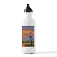 Chincoteague Seagull Sunset Water Bottle