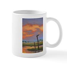 Chincoteague Seagull Sunset Mugs