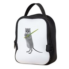 Squeaky, Warrior Mouse Neoprene Lunch Bag