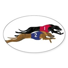 Unique Greyhound racing Decal