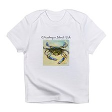 Chincoteague Island, VA Blue Crab Infant T-Shirt