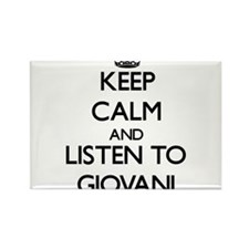 Keep Calm and Listen to Giovani Magnets