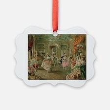 Rococo Dance Party Ornament