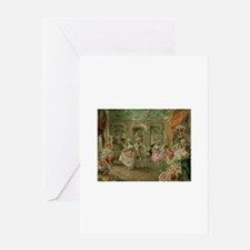 Rococo Dance Party Greeting Cards