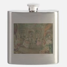 Rococo Dance Party Flask