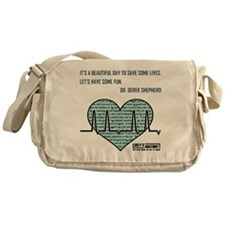ITS A BEAUTIFUL... Messenger Bag