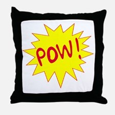 POW! Throw Pillow