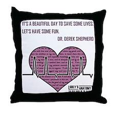 ITS A BEAUTIFUL... Throw Pillow