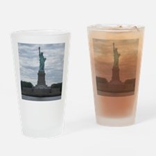 Cute Statue of liberty Drinking Glass