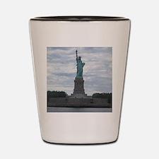 Unique Liberty university Shot Glass