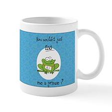 Sleepy-Prince-Frog Mugs