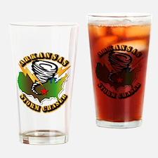 Storm Chaser - Arkansas Drinking Glass
