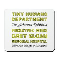 TINY HUMANS Mousepad