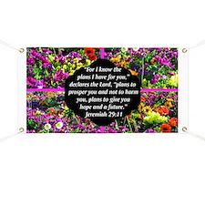 JEREMIAH 29:11 Banner