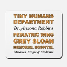TINY HUMANS Mousepad