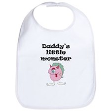 Daddys Little Monster Bib