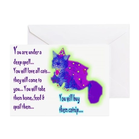 Sorcerer Spell Greeting Cards (Pk of 10)