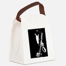 Oboe art Canvas Lunch Bag