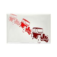 Funny Cuba cars Rectangle Magnet