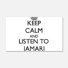 Keep Calm and Listen to Jamari Wall Decal