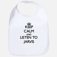 Keep Calm and Listen to Jarvis Bib