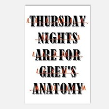 THURSDAY NIGHTS Postcards (Package of 8)