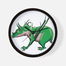 Verde Dragon Wall Clock