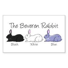 Beveren Rabbit Colors Decal