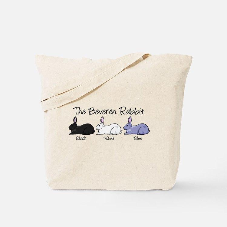 Beveren Rabbit Colors Tote Bag