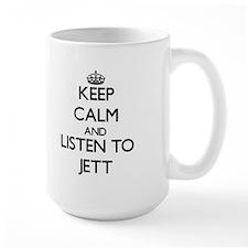 Keep Calm and Listen to Jett Mugs