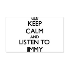 Keep Calm and Listen to Jimmy Wall Decal