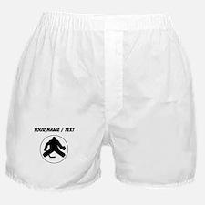 Custom Hockey Goalie Circle Boxer Shorts