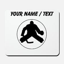 Custom Hockey Goalie Circle Mousepad