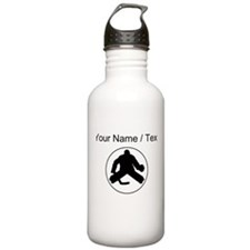 Custom Hockey Goalie Circle Water Bottle