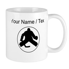 Custom Hockey Goalie Circle Mugs