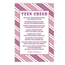 TEEN CREED Postcards (Package of 8)