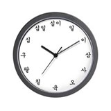 Korean Basic Clocks