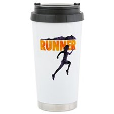 female runner.png Travel Mug