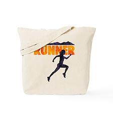female runner.png Tote Bag