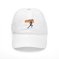 female runner.png Baseball Baseball Cap